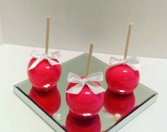 12 Custom Candy Apples