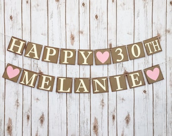 HAPPY BIRTHDAY BANNER, happy birthday sign, happy birthday decor, birthday party decorations, birthday party decor, birthday party banner