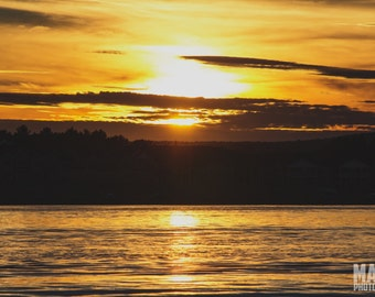 Sunset Over Lake Whalom