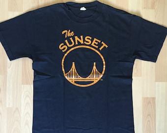 Vintage Sunset T-shirt 80s