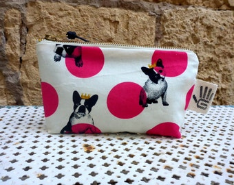 Toiletry bag Fuchsia frenchies