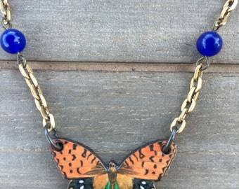 Natural Whimsy Collection: Simple Butterfly Necklace