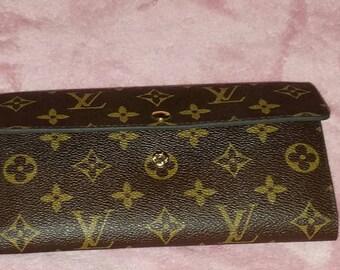 Vintage Louis Vuitton monogrammed wallet