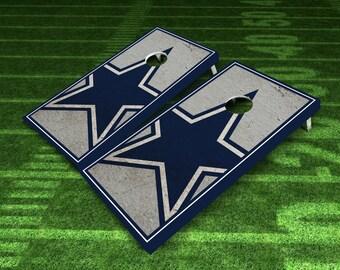 Cowboys Cornhole Boards