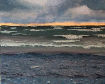 Sunset Storm at Wellington Beach