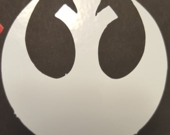 Star Wars Rebel Vinyl Decal