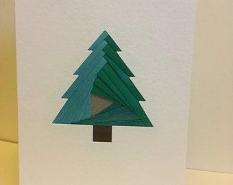 Iris Folding - Christmas Card