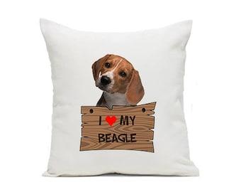 I Love My Pillow BEAGLE