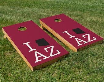 Arizona Cardinals Pride Cornhole Board Set