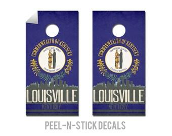 Louisville State Flag Skyline Decals