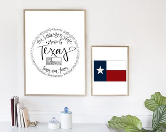 Texas - Print (8x10)