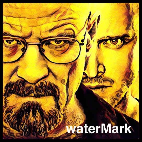 Breaking bad poster  Etsy