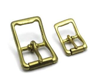 10 Pcs. Brass Centre Bar Roller Strap Buckle