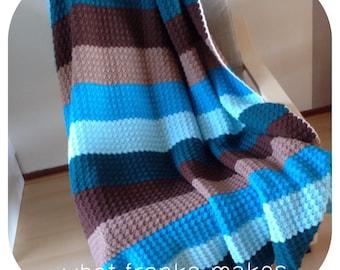 Crochet Blanket, Afghan, Throw