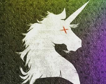 The Last Unicorn 12x12 Art Print