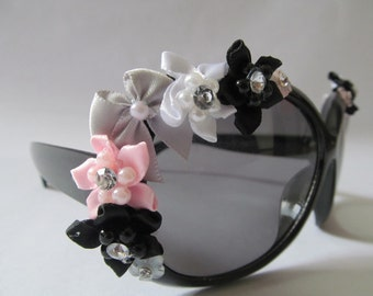 Embellished Sunglasses (Bows and flowers)