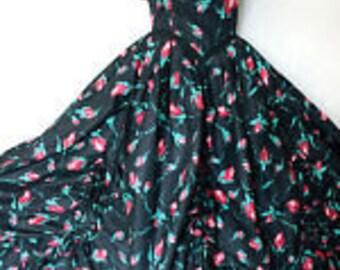 Vintage Laura Ashley ballgown