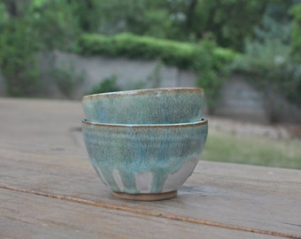 Mossy Bowl - Handmade Small Ceramic Bowl - Pottery Bowl - Green Bowl