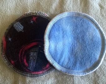 Doctor who reusable and washable nursing pads