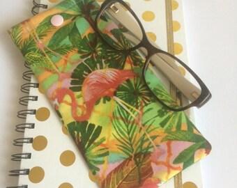 Sunglasses/Reading Glasses Fabric Case.