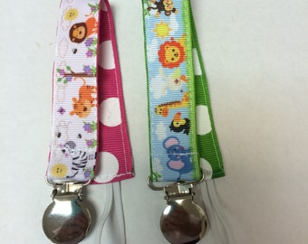 Zoo Animal Pacifier Holder