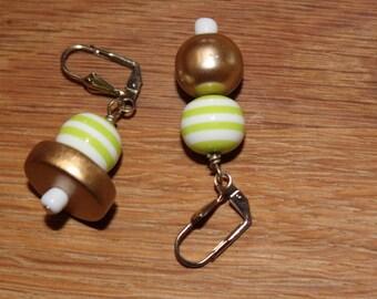 Candy Range Asymmetrical Earrings