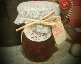 Strawberry-Plum-Rosemary Jam