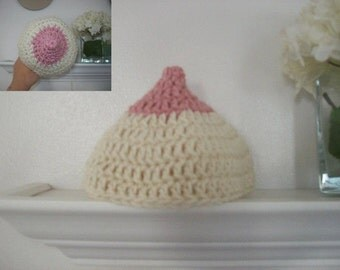 Breastfeeding baby hat!