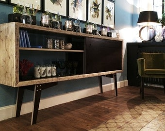 Midcentury sideboard from lumber