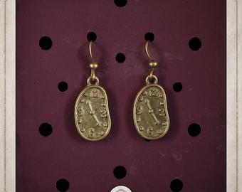 DALI earrings bronze watch soft BOB030