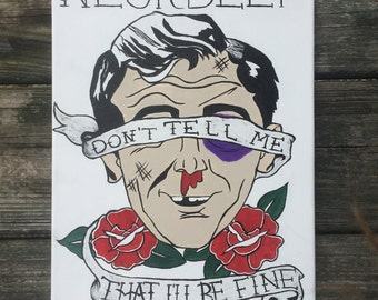 Neck Deep Canvas Painting