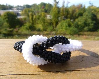 Infinity Knot Kumihimo Bracelet