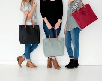 "Shop ""monogram tote bag"" in Handbags"
