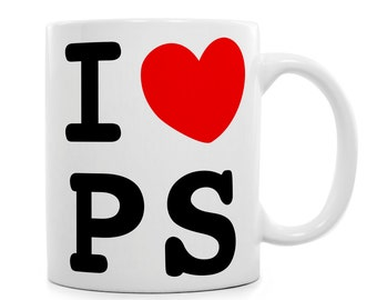 Personalised Coffe Mug - I LOVE – Personalised Print – Unique Mugs