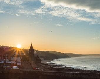 Porthleven Sunrise Photographic Print