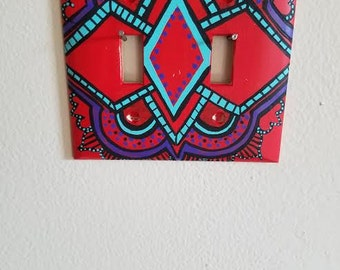 Hand Painted Switchplate