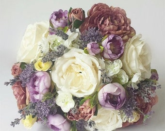Everlasting Country Vintage Bridal Bouquet