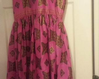 Pretty in Pink Royal Ankara dress