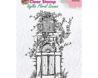 Buffer clear transparent scrapbooking Nellies's choice CARRIES flowers 02