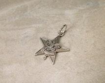 Vintage Sterling Silver Boy Scouts BSA Charm
