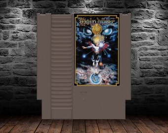 Holy Diver - Music-inspired Fantasy Action Platformer - NES - English Translation