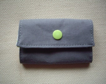 Self stitched wallet