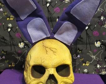 Purple Bunny Ears Bonnie Inspired Halloween Headband FNAF
