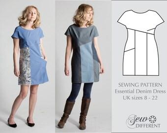Sewing Pattern - Essential Denim Dress