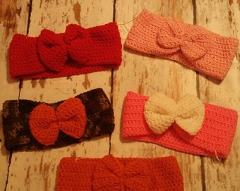 Women Crochet Ear Warmer