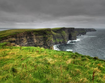 Ireland's beautiful Cliffs of Moher