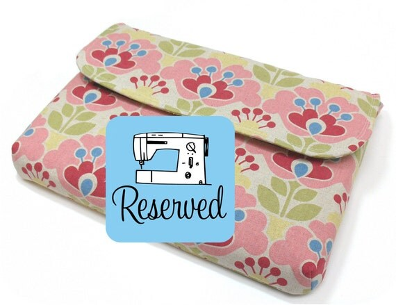 "Laptop Sleeve Sewing Pattern - 13"" Laptop - PDF (Email Delivery)"