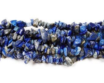 Lapis Chips Gemstone Beads
