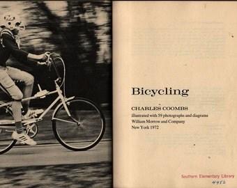 Bicycling - Charles Coombs - 1972 - Vintage Kids Book