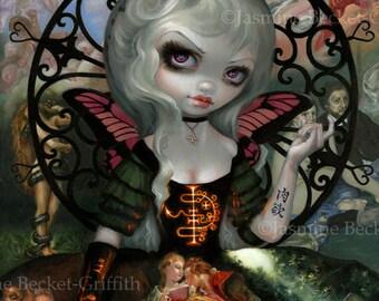 Unseelie Court: Lust dark fairy art print by Jasmine Becket-Griffith 8x10 7 seven deadly sins